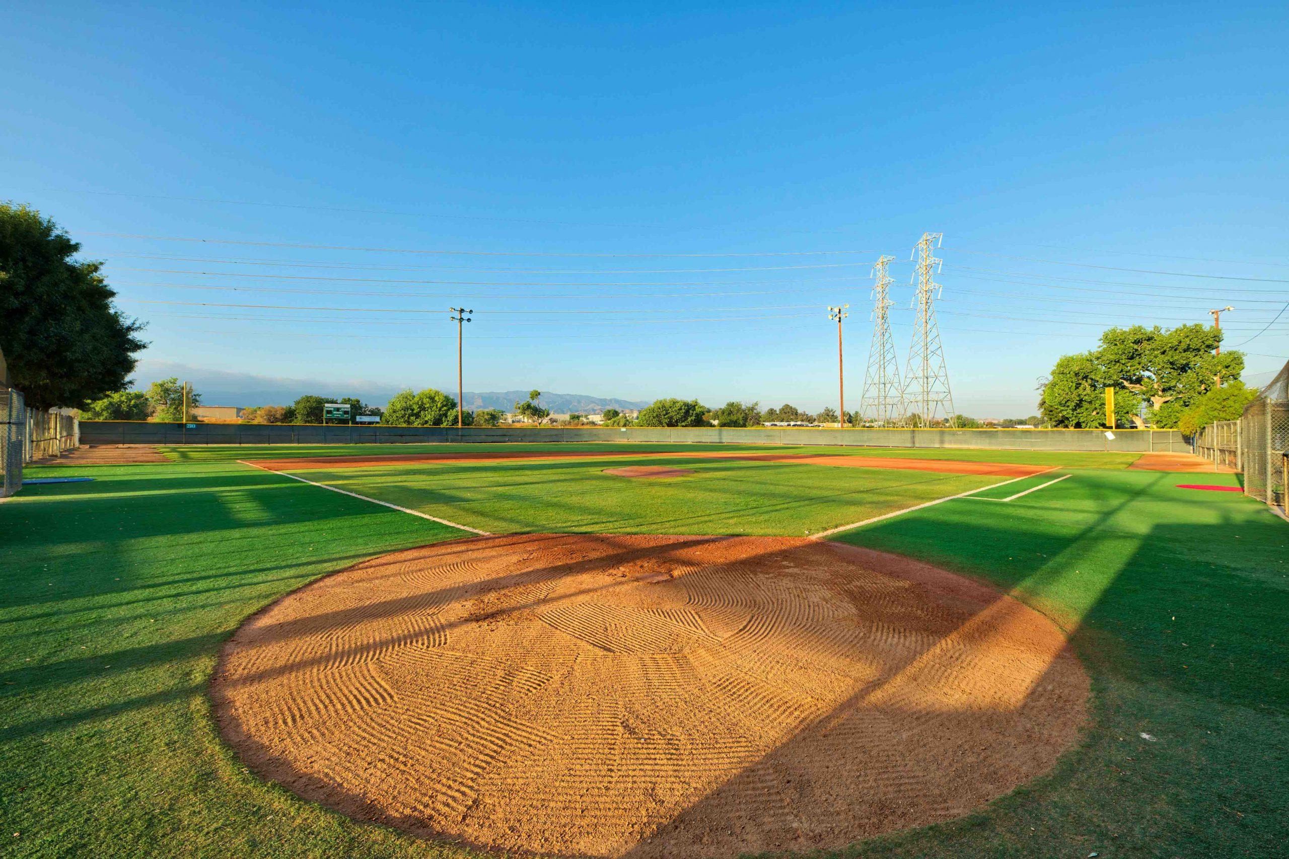 Baseball ground maintenance